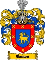 Primary image for Camon Family Crest / Coat of Arms JPG or PDF Image Download