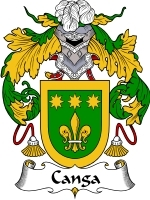 Primary image for Canga Family Crest / Coat of Arms JPG or PDF Image Download