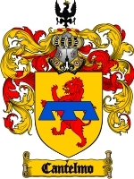 Primary image for Cantelmo Family Crest / Coat of Arms JPG or PDF Image Download
