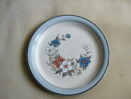 Johann Haviland Crowning Fashion Blue Bouquet Stoneware Dinner Plate - $4.99