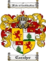 Primary image for Caraher Family Crest / Coat of Arms JPG or PDF Image Download