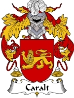 Primary image for Caralt Family Crest / Coat of Arms JPG or PDF Image Download