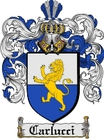 Primary image for Carlucci Family Crest / Coat of Arms JPG or PDF Image Download