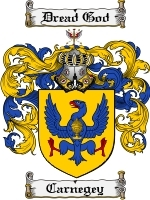 Primary image for Carnegey Family Crest / Coat of Arms JPG or PDF Image Download