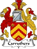 Primary image for Carruthers Family Crest / Coat of Arms JPG or PDF Image Download