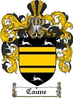 Primary image for Caune Family Crest / Coat of Arms JPG or PDF Image Download