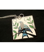 BIRD ON BRANCH NECKLACE    - $15.00