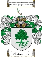 Primary image for Cawnnor Family Crest / Coat of Arms JPG or PDF Image Download