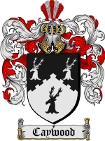 Primary image for Caywood Family Crest / Coat of Arms JPG or PDF Image Download