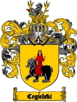 Primary image for Cegielski Family Crest / Coat of Arms JPG or PDF Image Download