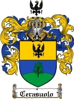 Primary image for Cerasuolo Family Crest / Coat of Arms JPG or PDF Image Download