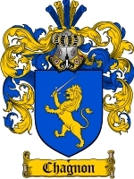 Primary image for Chagnon Family Crest / Coat of Arms JPG or PDF Image Download