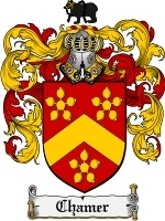 Primary image for Chamer Family Crest / Coat of Arms JPG or PDF Image Download
