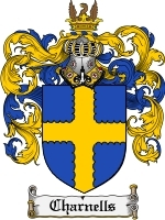 Primary image for Charnells Family Crest / Coat of Arms JPG or PDF Image Download