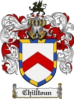 Primary image for Chilltoun Family Crest / Coat of Arms JPG or PDF Image Download