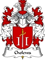 Primary image for Cholewa Family Crest / Coat of Arms JPG or PDF Image Download
