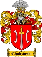 Primary image for Chudzinski Family Crest / Coat of Arms JPG or PDF Image Download