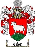 Ciesla coat of arms download