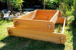Garden Raised Bed Planter Flower Box Cedar Vegetable Kit Outdoor Elevated Herb - $84.99