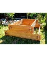Garden Raised Bed Planter Flower Box Cedar Vegetable Kit Outdoor Elevate... - $84.99