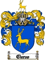Primary image for Ciervo Family Crest / Coat of Arms JPG or PDF Image Download