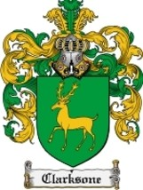 Clarksone Family Crest / Coat of Arms JPG or PDF Image Download - $6.99