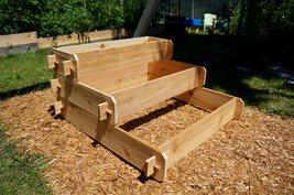 Raised Bed Patio Garden Planter Flower Box Herb Elevated Vegetable Outdoor Cedar - $129.99