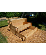 Raised Bed Patio Garden Planter Flower Box Herb Elevated Vegetable Outdo... - $129.99