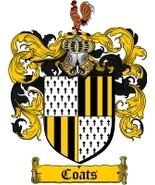 Coats Family Crest / Coat of Arms JPG or PDF Image Download - $6.99