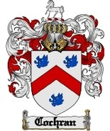 Cochran Family Crest / Coat of Arms JPG or PDF ... - $6.99