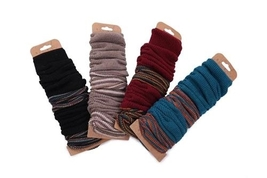 Tahoe Thigh High Leg Warmers in choice of color Teal Burgundy Khaki Black