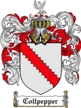 Collpepper Family Crest / Coat of Arms JPG or PDF Image Download - $6.99
