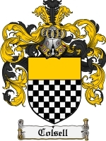 Primary image for Colsell Family Crest / Coat of Arms JPG or PDF Image Download