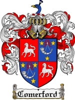 Primary image for Comerford Family Crest / Coat of Arms JPG or PDF Image Download