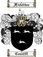 Primary image for Conliff Family Crest / Coat of Arms JPG or PDF Image Download