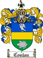 Primary image for Conlan Family Crest / Coat of Arms JPG or PDF Image Download