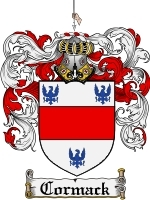 Primary image for Cormack Family Crest / Coat of Arms JPG or PDF Image Download