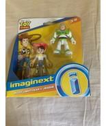 Fisher Price Imaginext Disney Toy Story Buzz Lightyear & Cowgirl Jessie ... - $14.00