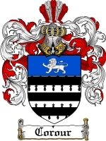 Primary image for Corour Family Crest / Coat of Arms JPG or PDF Image Download