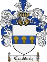 Primary image for Craddoch Family Crest / Coat of Arms JPG or PDF Image Download