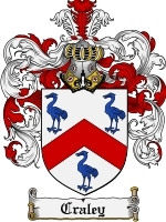 Primary image for Craley Family Crest / Coat of Arms JPG or PDF Image Download