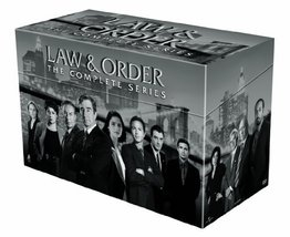 Law and Order The Compete Series DVD Box Set Seasons 1-20 - $148.94