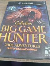 Nintendo GameCube Cabela's Big Game Hunter: 2005 Adventures image 1