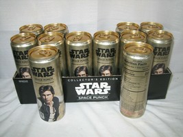 RARE UNOPENED #12 HAN SOLO STAR WARS FULL 12OZ SPACE PUNCH CAN - $5.93