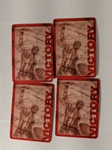 4 Age of Mythology Board Game Red Victory Battle Card Set Replacement Part  - $9.49