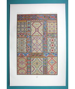 STAINED GLASS English & French Gothic Cathedrals - COLOR Litho Print by ... - $22.95
