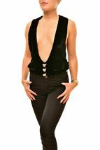 For Love & Lemons Ladies Vest Black S - $51.49