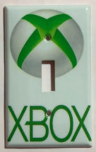 XBox green logo Switch Outlet Toggle & more Wall Cover Plate Home decor image 4