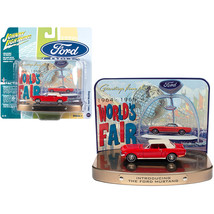DDS-10325 1964 1/2 Ford Mustang Rangoon Red with Red Interior with Colle... - $31.43