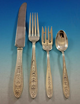 Wedgwood by International Sterling Silver Flatware Set 8 Service 32 pcs Dinner - $2,295.00